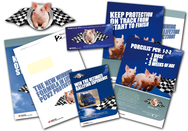 Pig Vaccine Launch - UK printed materials